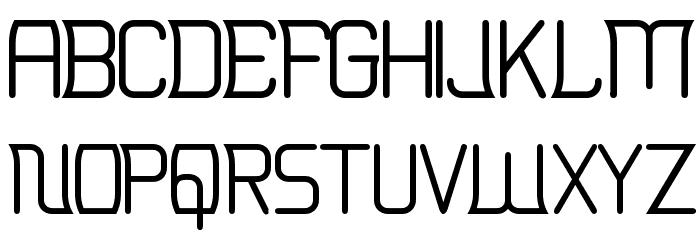 Erinal Font UPPERCASE
