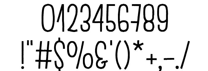 Escalope Crust One Шрифта ДРУГИЕ символов