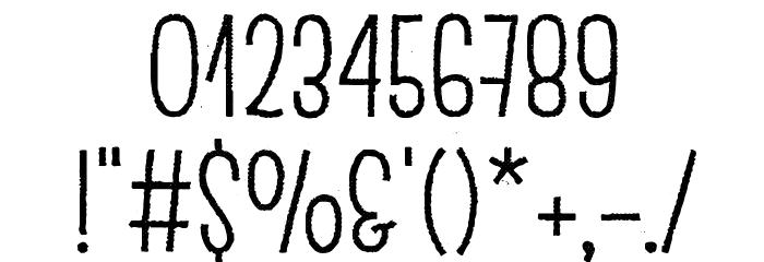 Escalope Crust Two Шрифта ДРУГИЕ символов