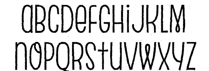 Escalope Crust Two Шрифта строчной
