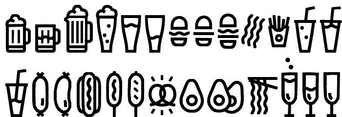EscalopeCrustOne-Icons Шрифта ВЕРХНИЙ