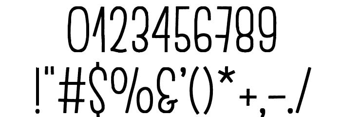 EscalopeCrustOne Шрифта ДРУГИЕ символов