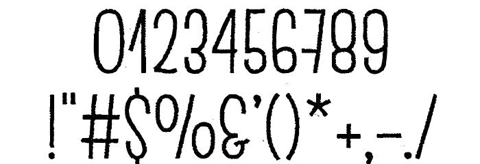 EscalopeCrustTwo Шрифта ДРУГИЕ символов