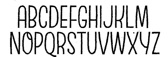 EscalopeCrustTwo Шрифта ВЕРХНИЙ