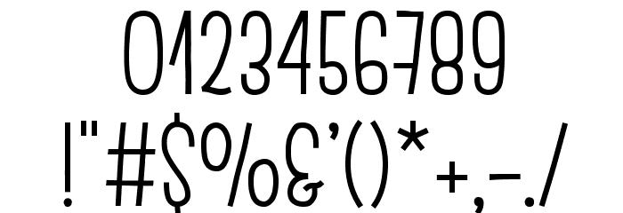 EscalopeSoft Шрифта ДРУГИЕ символов