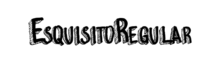 EsquisitoRegular  Free Fonts Download