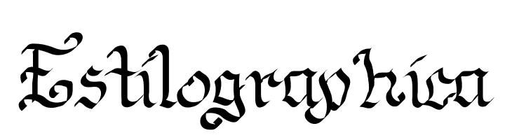 Estilographica  Fuentes Gratis Descargar