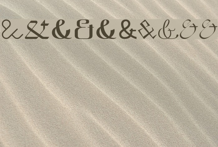 Etadayfree Font examples