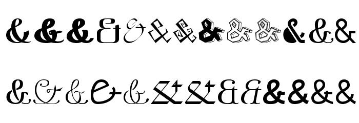 Etadayfree Font LOWERCASE