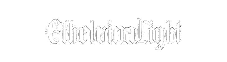 Ethelvina_Light  baixar fontes gratis
