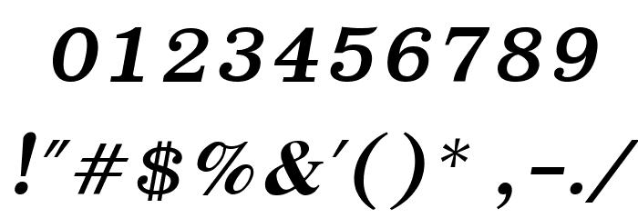 EucrosiaUPC Bold Italic Font Alte caractere