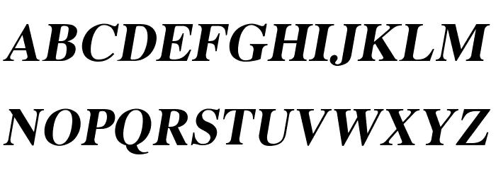 EucrosiaUPC Bold Italic Font Litere mari