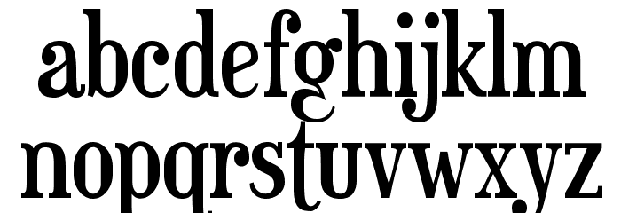 Euphorigenic-Regular Font LOWERCASE
