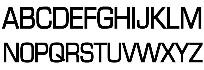 Eurasia Bold Font UPPERCASE