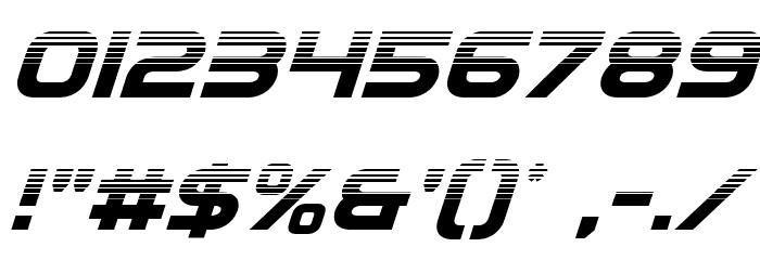 Eurofighter Halftone Italic Fonte OUTROS PERSONAGENS