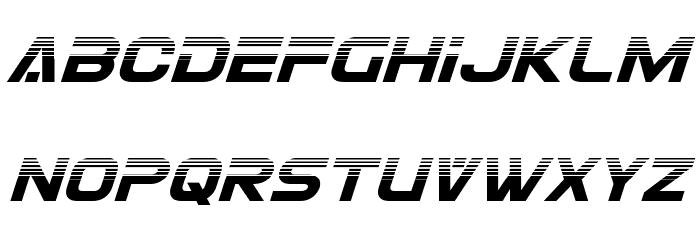 Eurofighter Halftone Italic Fonte MAIÚSCULAS