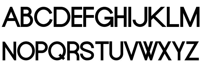 Europe Underground 字体 大写