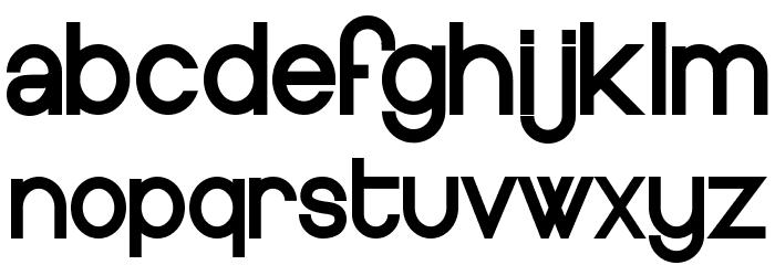 Europe Underground Font Litere mici