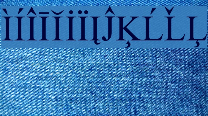 European Serif फ़ॉन्ट examples
