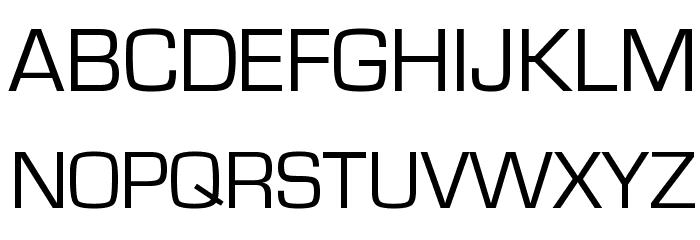 Eurostile Font UPPERCASE