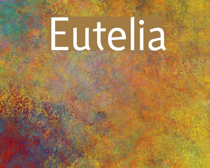 Eutelia फ़ॉन्ट examples