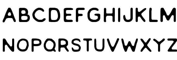EVERLONG Font UPPERCASE