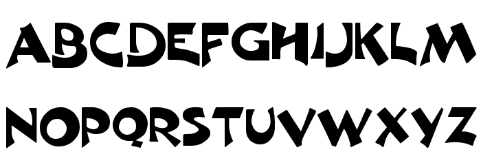 Excalibur Logotype Normal Font UPPERCASE