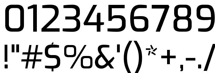Exo Medium لخطوط تنزيل حرف أخرى