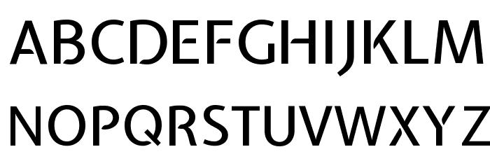 Expletus Sans Medium Font UPPERCASE