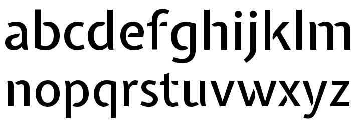Expletus Sans Medium Font LOWERCASE