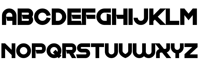 Exposure Salary Font UPPERCASE