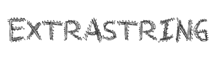 ExtraString Font