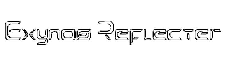 Exynos Reflecter  フリーフォントのダウンロード