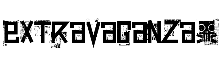 extravaganza-  नि: शुल्क फ़ॉन्ट्स डाउनलोड