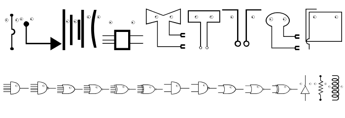 EyelecBats Font OTHER CHARS