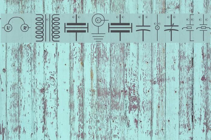 EyelecBats Font examples