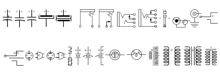 EyelecBats Font LOWERCASE