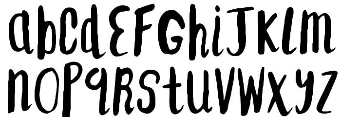 F... SAINT-TROPEZ-ALT2 Font LOWERCASE