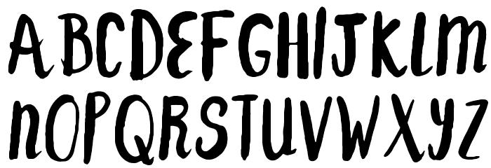 F... SAINT-TROPEZ-ALT Font Litere mari
