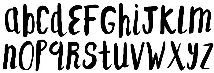 F... SAINT-TROPEZ-ALT Font Litere mici