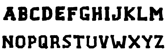 F... VERMONT Font LOWERCASE