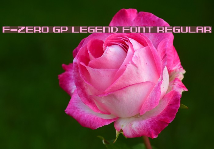 F-Zero GP Legend Font Regular Polices examples
