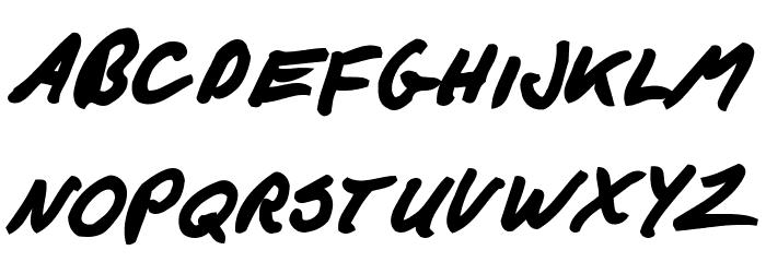F*ck Beans Bold Italic फ़ॉन्ट लोअरकेस