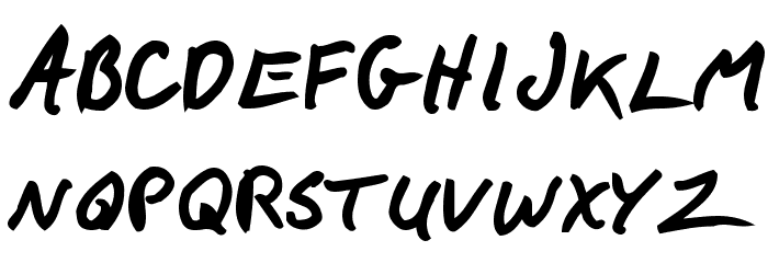 F*ck Beans Bold لخطوط تنزيل الأحرف الكبيرة