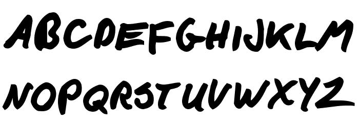F*ck Beans Bold Font Litere mici