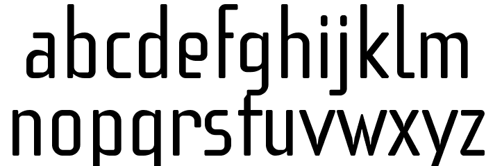f3Secuenciaroundffp Font LOWERCASE