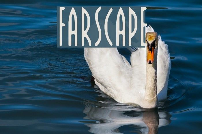 FARSCAPE フォント examples