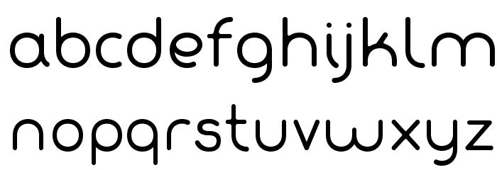 Fabada Font LOWERCASE