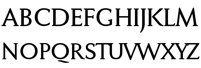 FaberDrei-Kraeftigreduced Font UPPERCASE