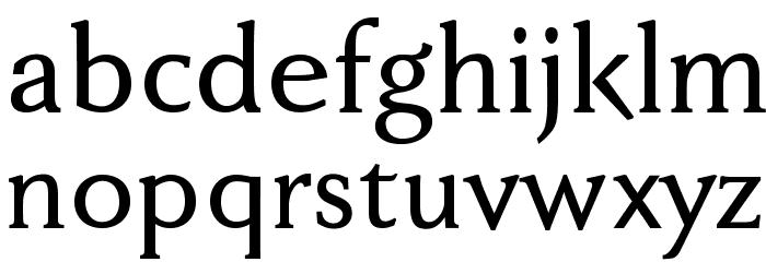 FaberDrei-Kraeftigreduced Fonte MINÚSCULAS